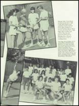 1984 Coral Gables High School Yearbook Page 166 & 167