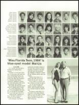 1984 Coral Gables High School Yearbook Page 252 & 253