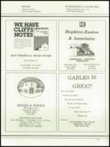 1984 Coral Gables High School Yearbook Page 292 & 293