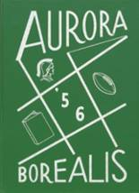 1956 Yearbook Aurora Central High School