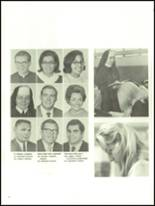 1970 St. Paul High School Yearbook Page 36 & 37