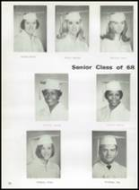 1968 Gladewater High School Yearbook Page 60 & 61