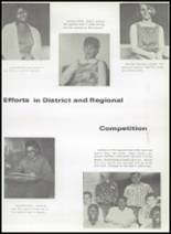 1968 Gladewater High School Yearbook Page 108 & 109