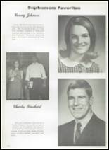 1968 Gladewater High School Yearbook Page 136 & 137