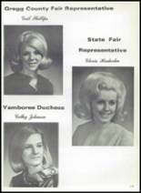 1968 Gladewater High School Yearbook Page 142 & 143