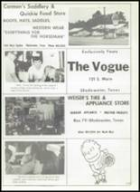 1968 Gladewater High School Yearbook Page 182 & 183