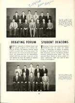 1953 Mt. Hermon School Yearbook Page 52 & 53
