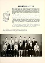 1953 Mt. Hermon School Yearbook Page 58 & 59