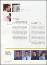 2002 Jay High School Yearbook Page 52 & 53