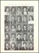 1946 Rushville Consolidated High School Yearbook Page 14 & 15
