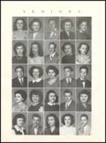1946 Rushville Consolidated High School Yearbook Page 16 & 17