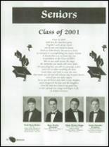 2001 Eula High School Yearbook Page 18 & 19