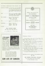 1956 West Hill High School Yearbook Page 42 & 43