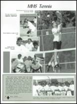 1992 Montrose High School Yearbook Page 86 & 87