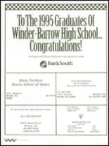 1995 Winder-Barrow High School Yearbook Page 188 & 189