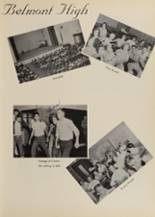 1957 Belmont High School Yearbook Page 10 & 11