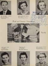 1957 Belmont High School Yearbook Page 22 & 23