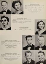 1957 Belmont High School Yearbook Page 38 & 39
