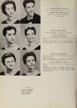 1957 Belmont High School Yearbook Page 42 & 43
