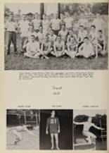 1957 Belmont High School Yearbook Page 100 & 101