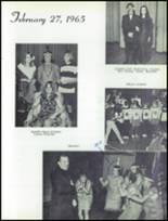 1965 Marin Catholic High School Yearbook Page 114 & 115