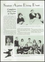 1984 Taylor High School Yearbook Page 48 & 49