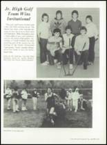 1984 Taylor High School Yearbook Page 104 & 105