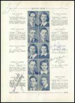 1943 Hornell High School Yearbook Page 22 & 23