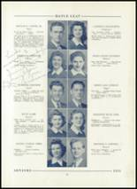 1943 Hornell High School Yearbook Page 24 & 25