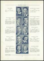 1943 Hornell High School Yearbook Page 28 & 29