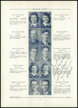 1943 Hornell High School Yearbook Page 30 & 31