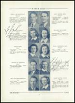1943 Hornell High School Yearbook Page 36 & 37