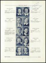 1943 Hornell High School Yearbook Page 38 & 39