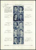 1943 Hornell High School Yearbook Page 42 & 43