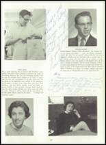 1960 Wilton High School Yearbook Page 32 & 33