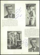 1960 Wilton High School Yearbook Page 40 & 41