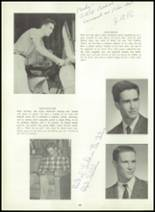 1960 Wilton High School Yearbook Page 48 & 49