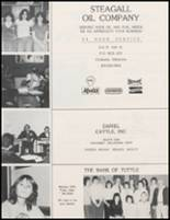 1983 Amber-Pocasset High School Yearbook Page 104 & 105