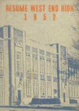 1952 Yearbook West End High School
