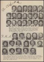 1950 Clayton High School Yearbook Page 58 & 59