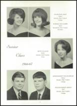 1967 Hampshire High School Yearbook Page 20 & 21