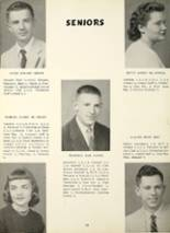 1956 Greenwood High School Yearbook Page 16 & 17