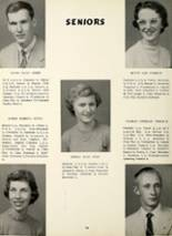 1956 Greenwood High School Yearbook Page 18 & 19