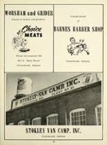 1956 Greenwood High School Yearbook Page 64 & 65