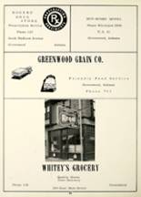 1956 Greenwood High School Yearbook Page 70 & 71