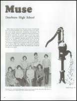 1979 Dearborn High School Yearbook Page 100 & 101