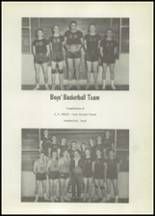 1956 Springtown High School Yearbook Page 56 & 57
