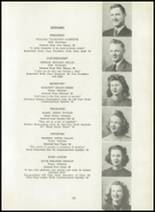 1945 Hazel Green High School Yearbook Page 14 & 15