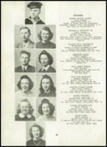 1945 Hazel Green High School Yearbook Page 16 & 17