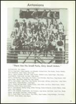 1972 Anthony Wayne High School Yearbook Page 118 & 119